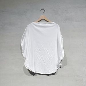 【COSMIC WONDER】Beautiful organic cotton circle T-shirt/White/11CW02051-1