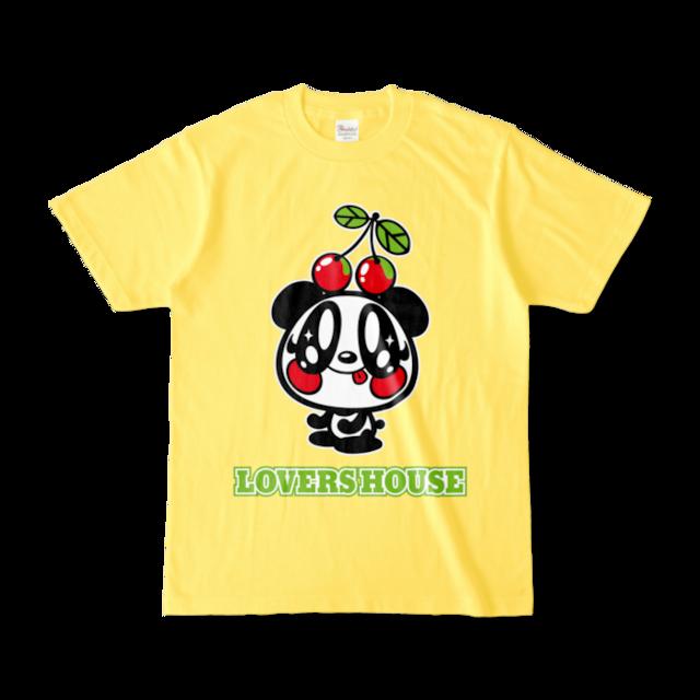 LOVERSHOUSE Cherry and Merry college/スーパーラヴァーズTシャツ