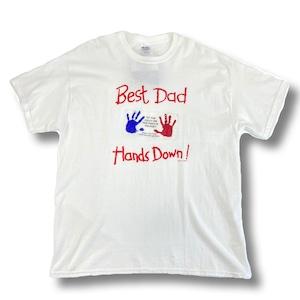 Best Dad Hands Down 最高な父親へTシャツ