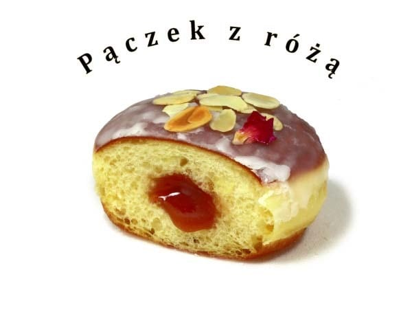 薔薇ポンチキ Paczek z różą / Rose jam