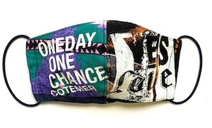 【COTEMER マスク 日本製】ONE DAY ONE CHANCE WESTERN ×  BLEACH MASK 0427-147