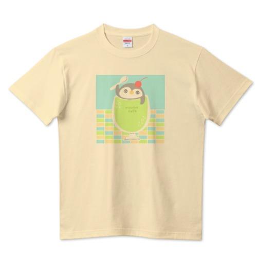 ペンギンメロンソーダ / 5.6ハイクオリティーTシャツ(United Athle)