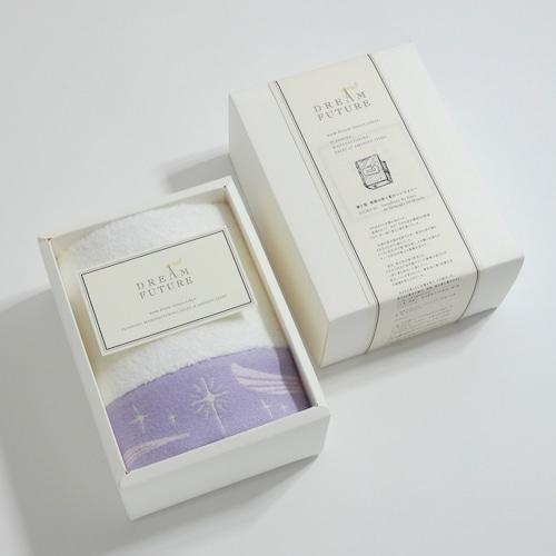 無撚糸(むねんし)高級Hand Towel 1枚SET PURPLE