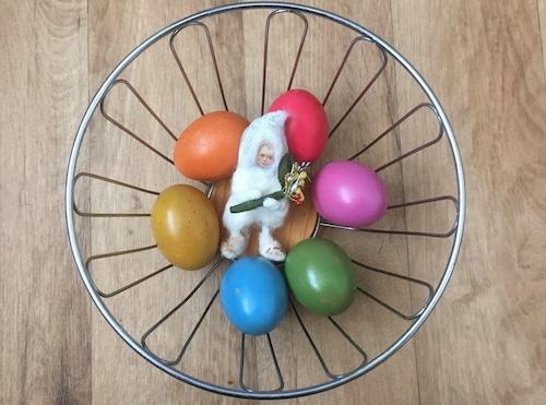 綿人形 花束を持った妖精 ドイツ手芸