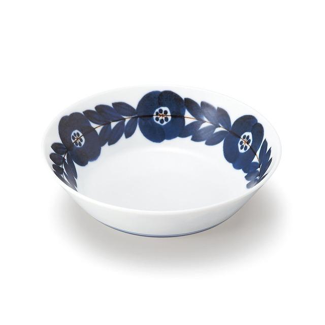 aito製作所 「ブロッサム blossom」青い花のうつわ 取り皿 小鉢 ボウル S 直径約15×高さ4cm 美濃焼 111003