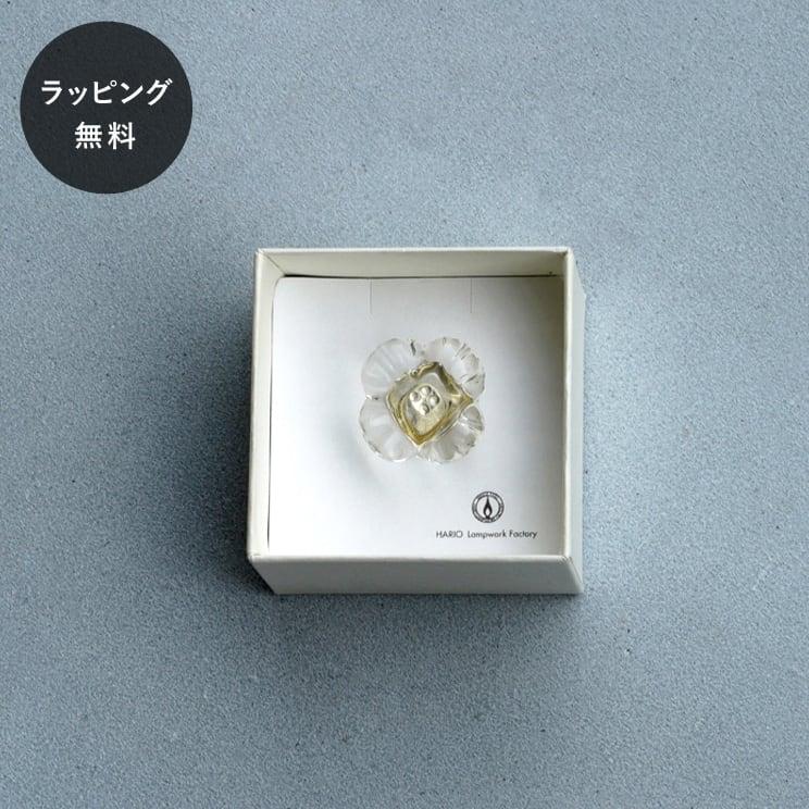 ハリオ HARIO ブローチ ノノハナ aa-0143