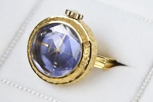 【ビンテージ時計】デットストック 1972年10月製造 セイコー指輪時計 日本製当時の指輪時計最高級モデル18K ケース