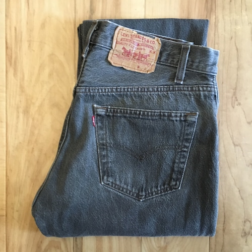 """Levi's 501 BLACK W32 inch """"Made in USA """""""