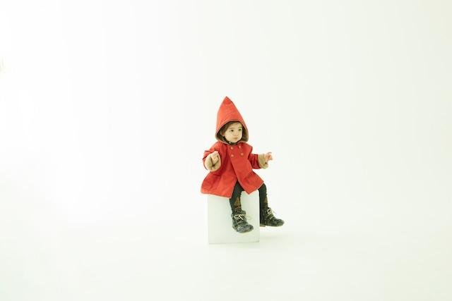 【21AW】eLfinFolk(エルフィンフォルク) elf coat(110/120) コート アウター トンガリ