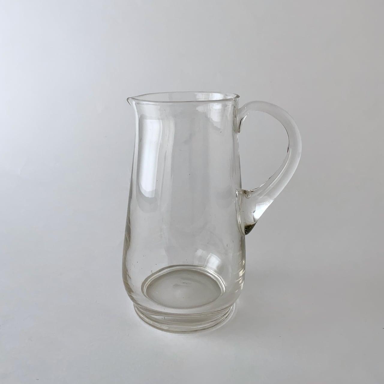 Vintage Clear jug  ヴィンテージのジャグ 7
