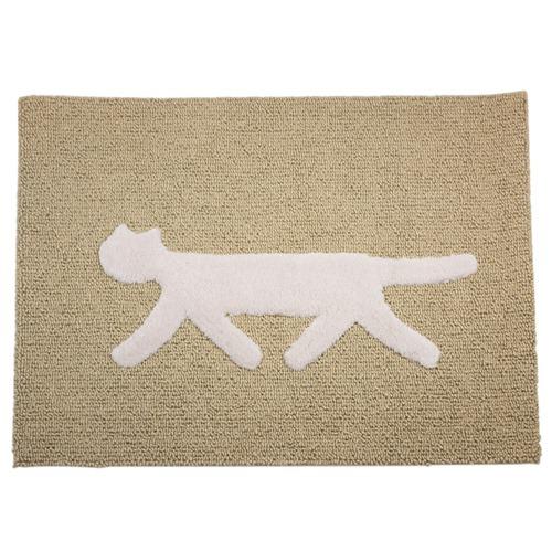 F/style(エフスタイル) Rondo Cat Mat(M) アイボリー