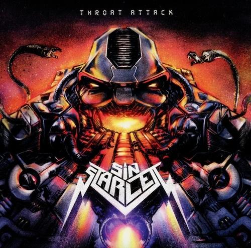 """SIN STARLETT """"Throat Attack"""" (輸入盤)"""