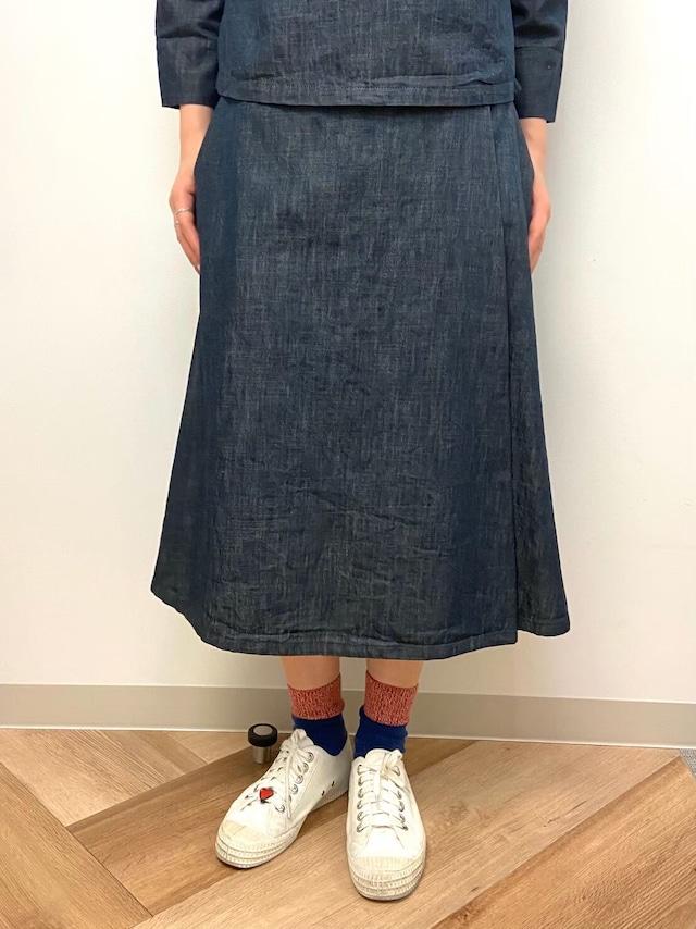 【ONEWASH】ラップスカート
