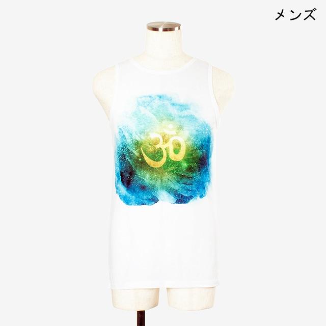 ヨガプリントタンク オム3 メンズ/ユニ Men's Yoga Print tank top Om3