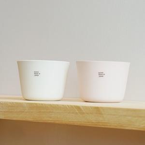 幅広く使えるカップのセット。ペイル カップセット(化粧箱入)
