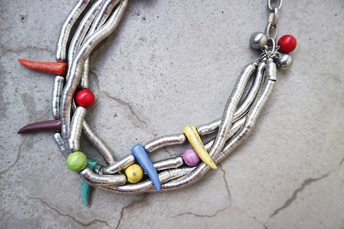 Vintage colorful necklace