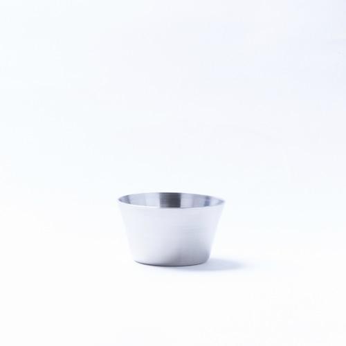 韓国ステンレス食器/カップ/深型(1号)【直径5.5㎝/高さ3㎝】
