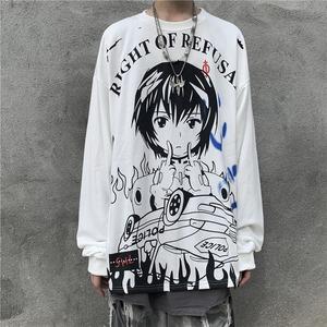 【トップス】プルオーバーラウンドネックアルファベットプリントTシャツ42908023