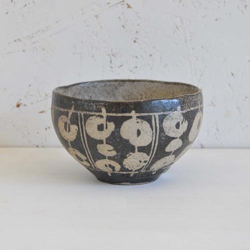 渡辺信史 黒釉チャイカップ(008-2)