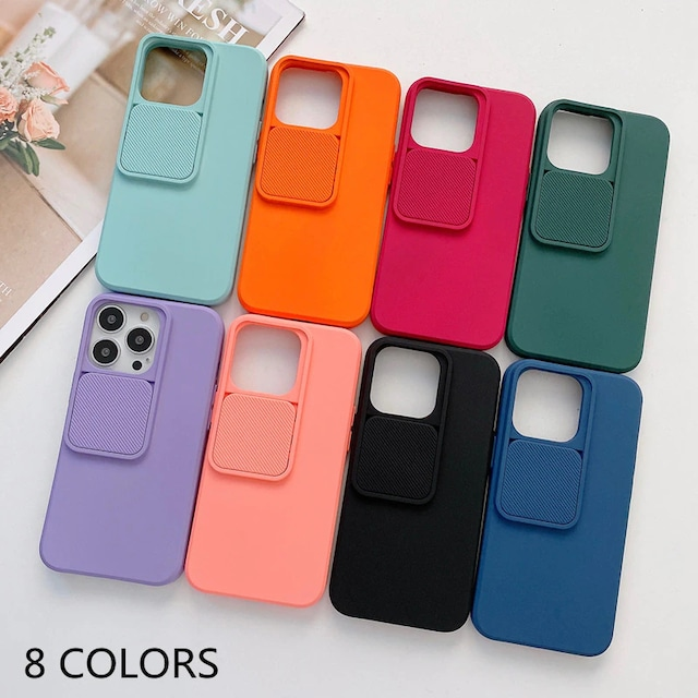 Camera protection color iphone case
