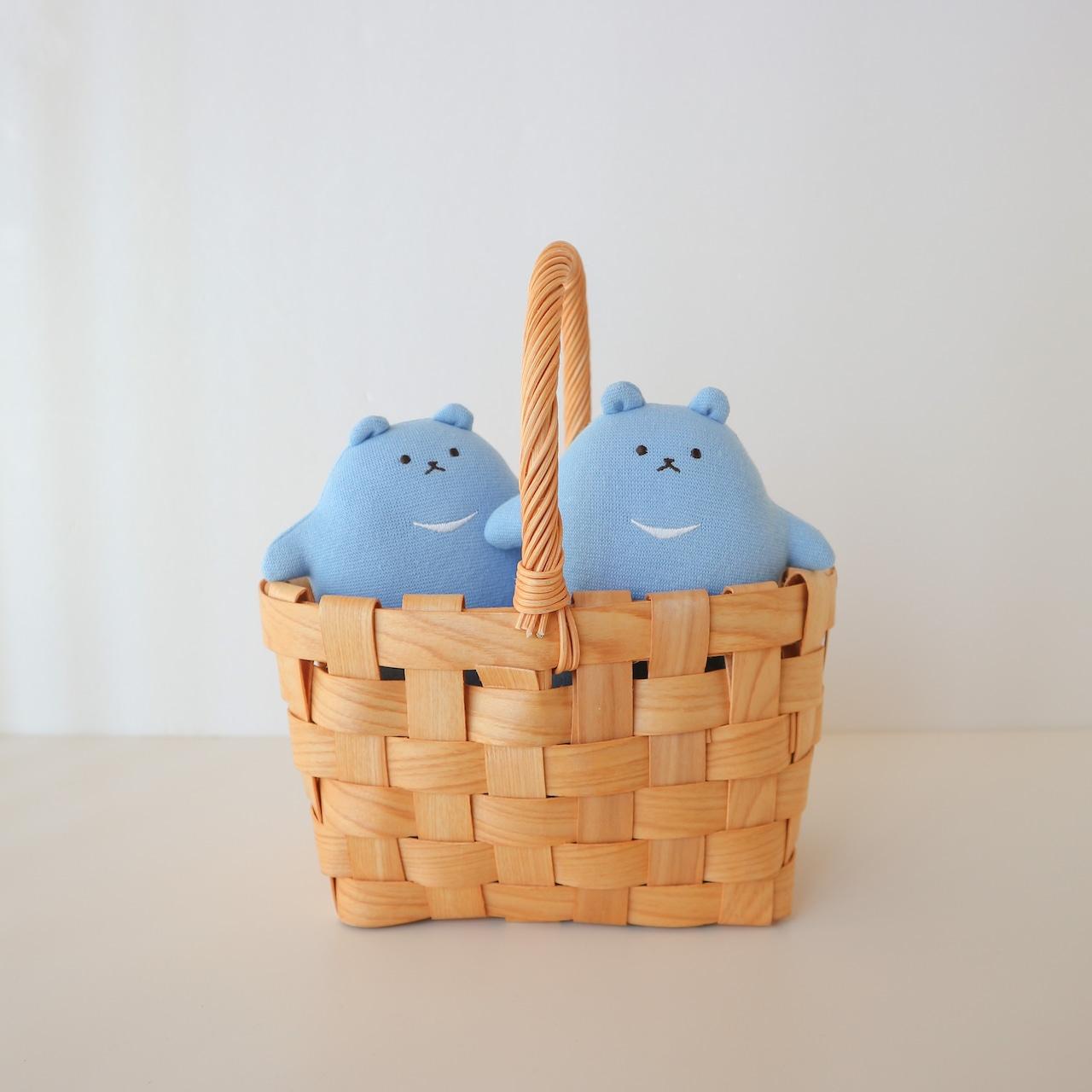 7月のつみきのわぐまさん(なつの青空