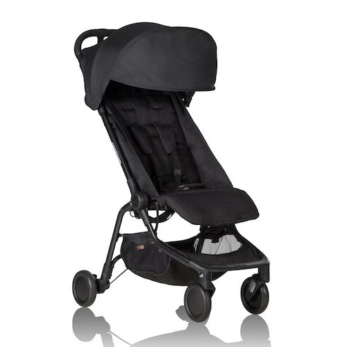 mountain buggy nano travel stroller Black マウンテンバギー ナノ