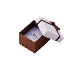 リボン付きアクセサリーボックス ギフトボックス 20個入り REP-726