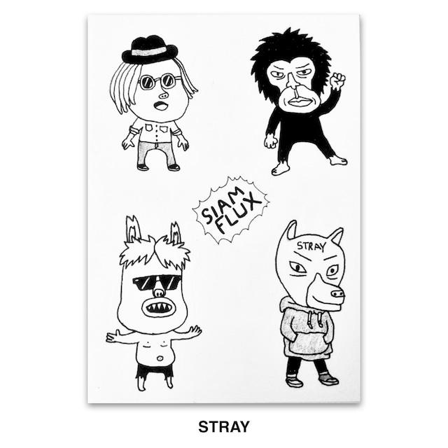 SIAM FLUX シール SIAM FLAX Sticker