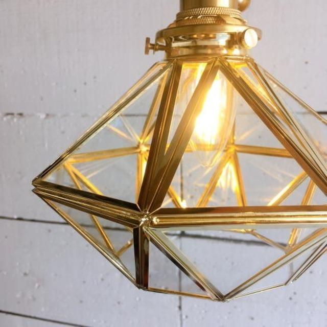 TOPANGA Lighting Little Diamond Lamp クリアガラス