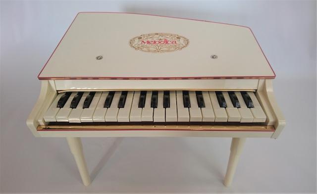 [vintage]イノウエ トイピアノ 白 31鍵盤 デッドストック品
