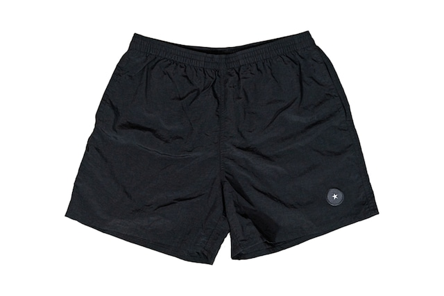 【Taslan nylon shorts】/ black