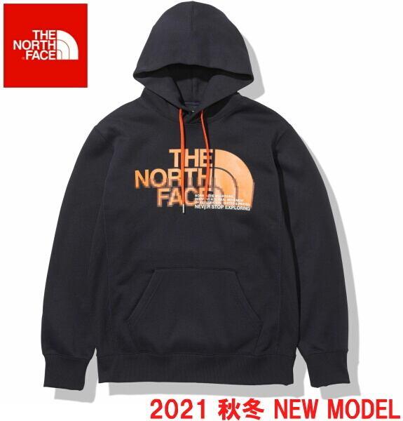 ノースフェイス パーカー スウェット プルオーバー パーカー THE NORTH FACE フロントハーフドームフーディ NT62136 アビエイターネイビー