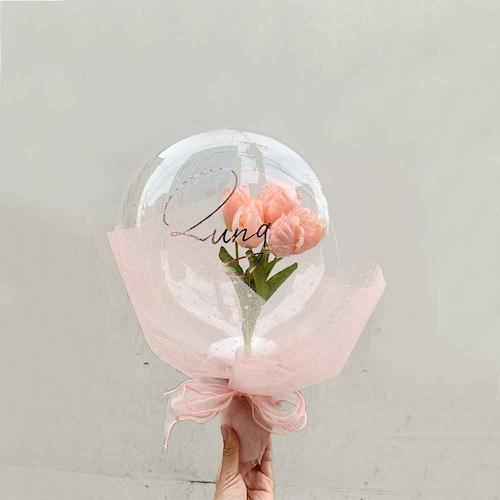 BALLOON FLOWER BOUQUET - el angels -