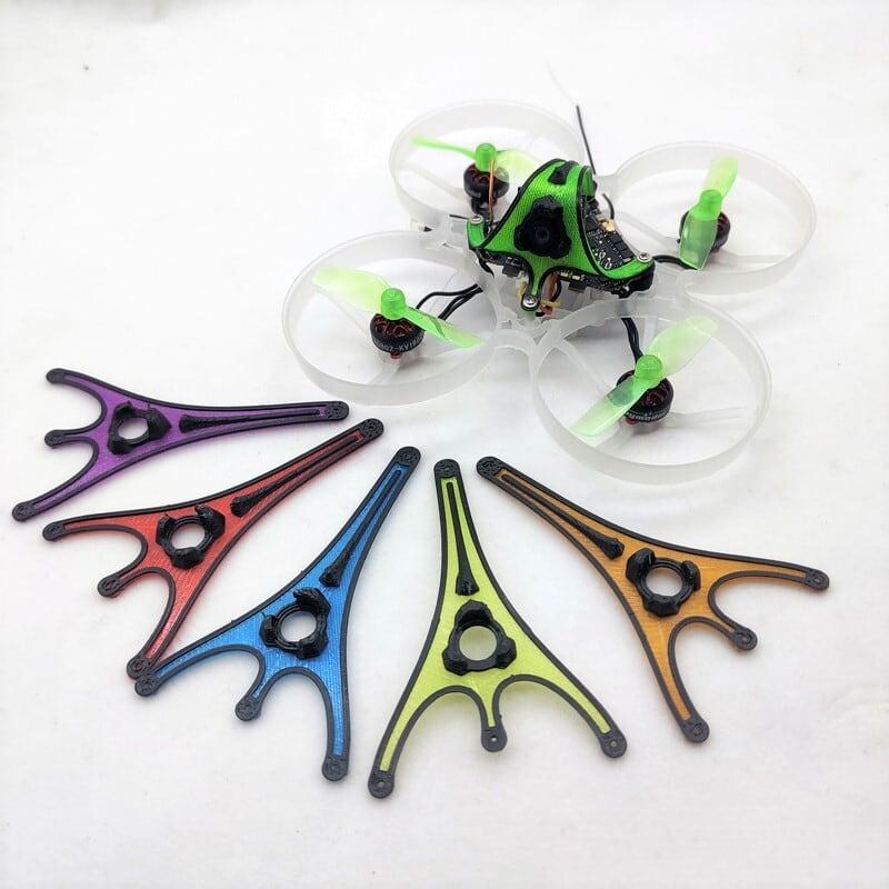 ◆Happymodel Mobula Moblite 6&7のオリジナルキャノピー 目視で機体の判別を行い易くなります。