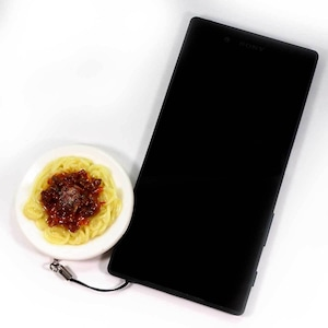 ミートスパゲティ  ビストロ・ココナッツ 食品サンプル キーホルダー ストラップ マグネット【送料無料】