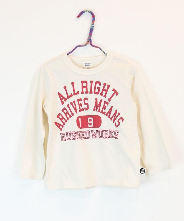 カレッジプリントロングTシャツ(日本製)