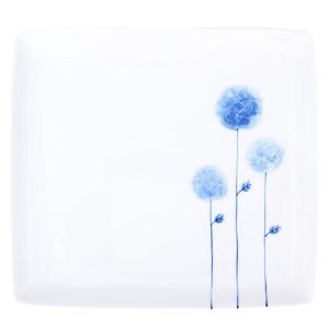 波佐見焼 WAZAN 和山窯 flowers 角プレート 皿 フラワーボール 326967