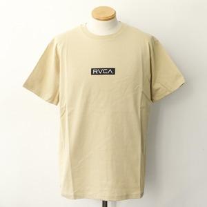 【RVCA】 STANDARD BOX RVCA SS (BEIGE)
