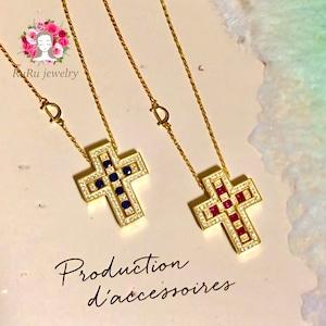 十字架ネックレス(シルバー925)