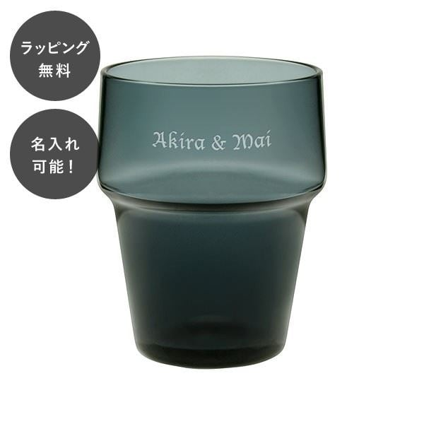 名入れ 日本製 ダッシュ 10オンス タンブラー スモーク アデリア tu-0035