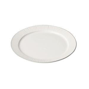 aito製作所 「ティント Tint」プレート 皿 L 約24cm ホワイト 美濃焼 289001