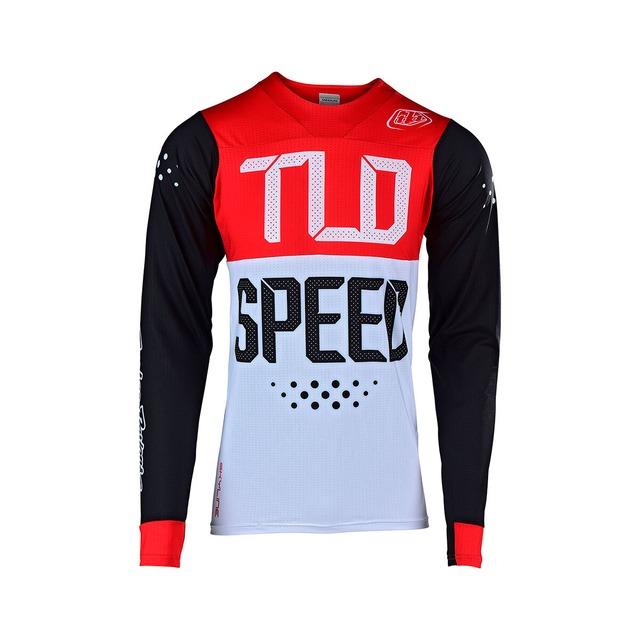 Troyleedesigns Sprint Short Reflex / RD/WT/BU(SALE)