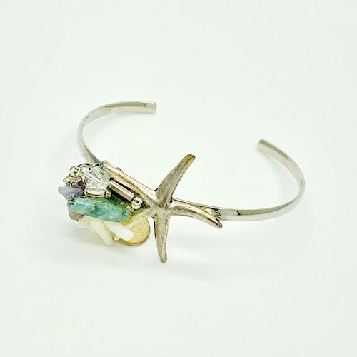 Clisoie starfish バングル シルバー
