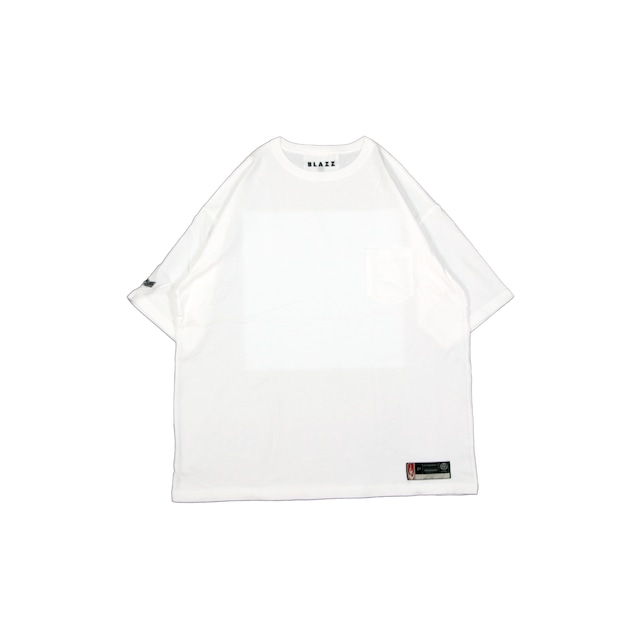 """""""STRAIGHT"""" POCKET TEE LOCAL MGZN 1ST ISSUE [WHITE]"""