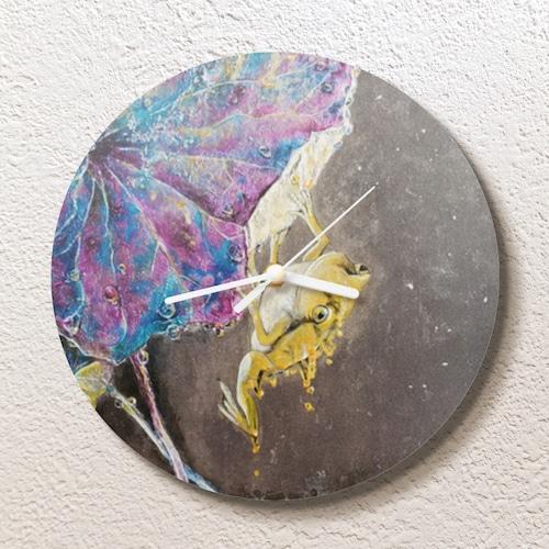 蜜蛙 時計 円形(M)