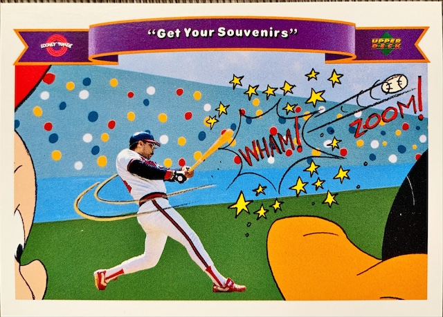 MLBカード 92UPPERDECK Looney Tunes #188