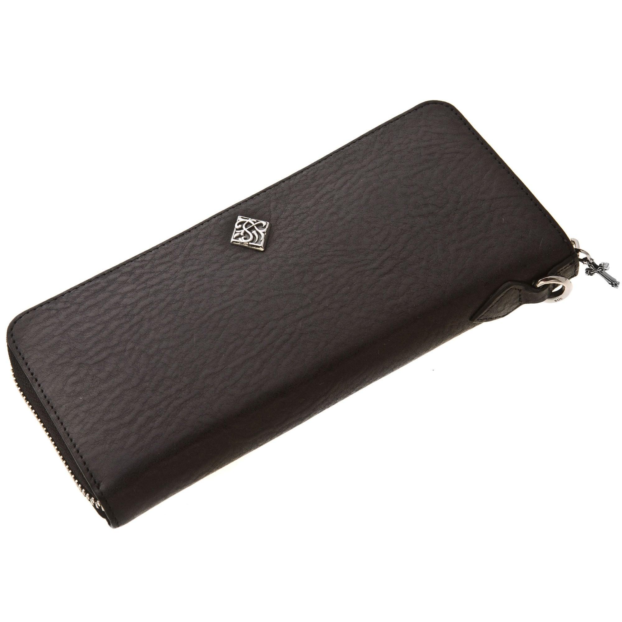 イタリアンレザージップウォレット ACW0011 Italian leather zip wallet