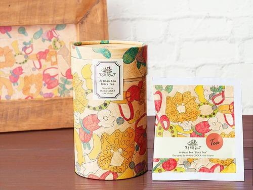 Artisan フェアトレードブラックティー(フルーツゼリー)【オーガニック紅茶】