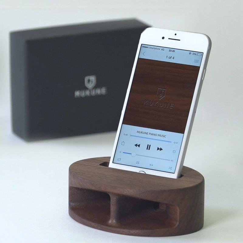 MUKUNE / iPhone用無電源スピーカー