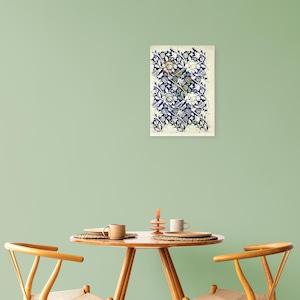 素敵なアートパネル A4サイズ Wey ウィリアム・モリス